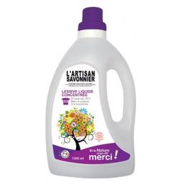 L Artisan Savonnier Entretien Lessive liquide concentrée 1.5L L Artisan Savonnier Entretien