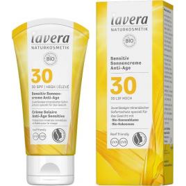 Lavera Crème Solaire Anti-âge Peaux Sensibles SPF 30 50ml Onaturel