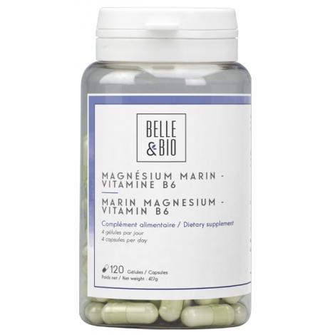 Belle et Bio Magnésium Marin Vitamine B6 120 gélules Onaturel