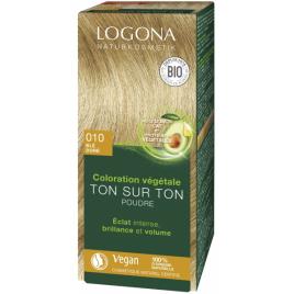 Logona Soin colorant végétal poudre Blé doré 100g Logona
