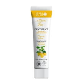 C'Bio Dentifrice Citron purifiant blanchissant 75 ml C'bio