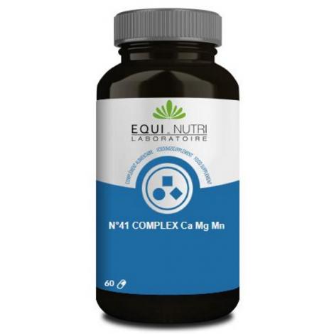 Equi Nutri No 41 complex Ca Mg Mn 60 gélules Equi - Nutri
