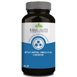 Equi Nutri Cheveux Complexe No 14 - 60 gélules végétales Equi - Nutri