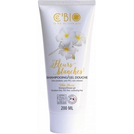 C'Bio Shampoing gel douche Fleurs Blanches 200ml C'bio