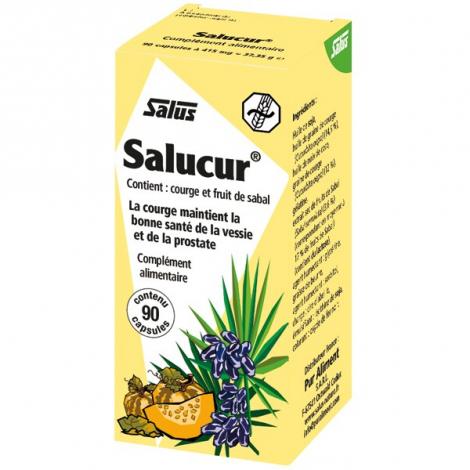 Salus Salucur Sabal courge 90 capsules Salus