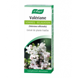 A. Vogel Valériane Extrait liquide Flacon compte gouttes 50ml A. Vogel