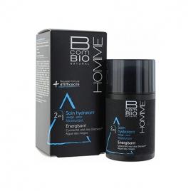BcomBio Homme Soin hydratant Energisant 50ml vital des glaciers algue des neiges BcomBio Homme