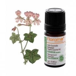 Huile essentielle bio Géranium Bourbon  Florame Florame Huiles essentielles Onaturel.fr