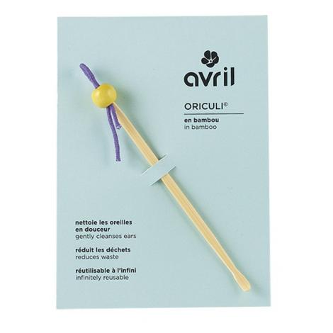 Avril Beauté Oriculi cure-oreilles écologique Avril Beauté