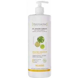 Dermaclay Gel bain douche Douceur familial Hydratant Relaxant 1L  Onaturel