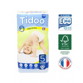 Tidoo 46 Couches JUNIOR (T5) 12/25kg Tidoo