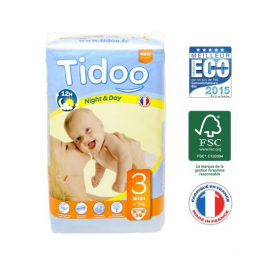 Tidoo 56 Couches MIDI (T3)  4/9kg Tidoo