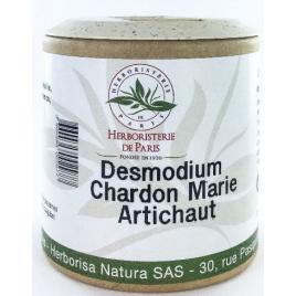Herboristerie de paris Desmodium Chardon marie Curcuma Artichaut 200 gélules Herboristerie De Paris