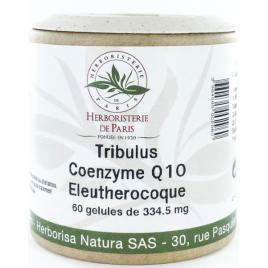 Herboristerie de Paris Tribulus Coenzyme Q10 Eleuthérocoque 60 Gélules Herboristerie De Paris