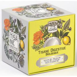 Provence D Antan Tisane cube Digestive bio 24 sachets 36g recharge carton Provence D Antan
