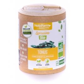 Nat et Form Spiruline Bio 200 gélules Nat et Form