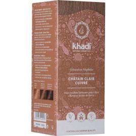 Khadi Teinture aux Plantes Châtain Clair 100 g Khadi