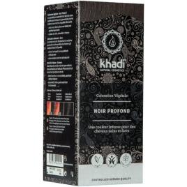Khadi Teinture aux Plantes Noir 100g Khadi