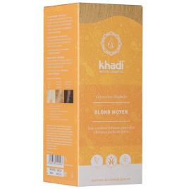 Khadi Coloration végétale Blond Moyen 100 gr Khadi
