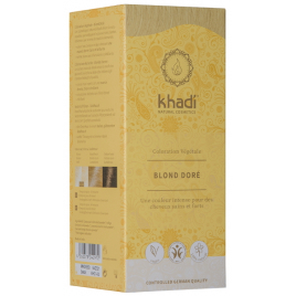 Khadi coloration végétale Blond doré 100gr Khadi