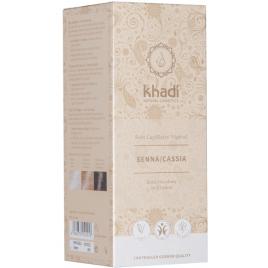 Khadi Teinture aux Plantes Senna/Cassia Naturel 100g Khadi