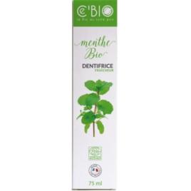 C'Bio Dentifrice Fraicheur Menthe bio 75 ml C'bio
