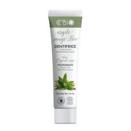C'BIO Dentifrice Argile Sauge bio purifiant reminéralisant 75 ml C'bio