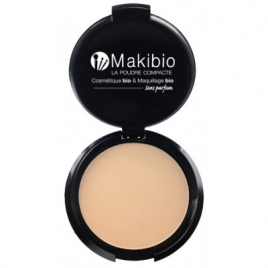 Makibio - Poudre Compacte Claire 9gr Onaturel