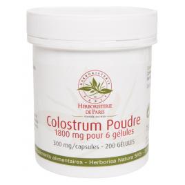 Herboristerie de Paris Colostrum Poudre 200 Gélules Herboristerie De Paris