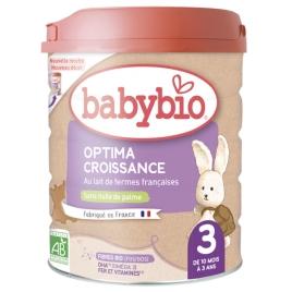Babybio Lait de croissance OPTIMA 10 mois à 3 ans Babybio