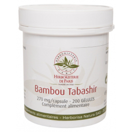 Herboristerie de Paris Bambou Tabashir silicium organique 200 gélules Herboristerie De Paris