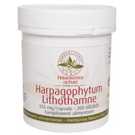 Herboristerie de Paris Harpagophytum Lithothamne 200 Gélules Herboristerie De Paris