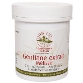 Herboristerie de Paris Gentiane Extrait Mélisse 200 Gélules Herboristerie De Paris