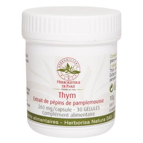 Herboristerie de Paris Thym Extrait de pépins de pamplemousse 30 Gélules Herboristerie De Paris