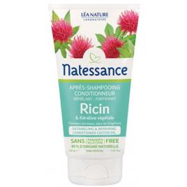 Natessance Après Shampoing Ricin et Kératine Végétale 150ml Natessance