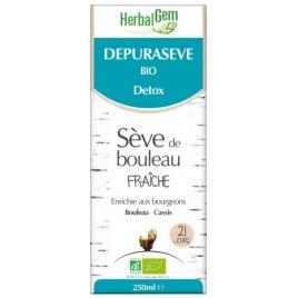 Herbalgem Gemmobase Dépurasève Bio Flacon 250ml Herbalgem Gemmobase