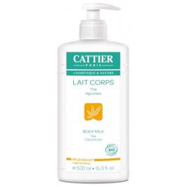 Cattier Lait corps hydratant Régénérant Pamplemousse Citron 500ml Cattier