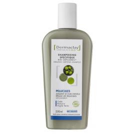 Dermaclay Shampoing Anti Pelliculaire Argile verte Cade Romarin 250ml Dermaclay