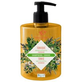 Cosmo Naturel Shampoing douche Tonique 2 en 1 Menthe poivrée Eucalyptus 500ml Cosmo Naturel