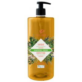 Cosmo Naturel Shampoing douche Tonique 2 en 1 Fraicheur Menthe Eucalyptus 1L Cosmo Naturel