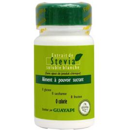 Guayapi Stevia Solution Blanche aliment à pouvoir sucrant 20g Guayapi