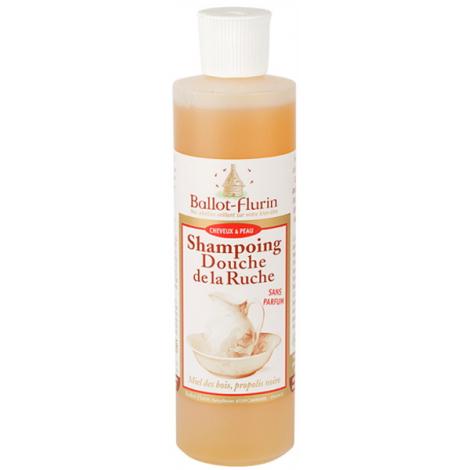 Ballot Flurin Shampoing douche de la Ruche assainissant et doux propolis miel 500ml Onaturel