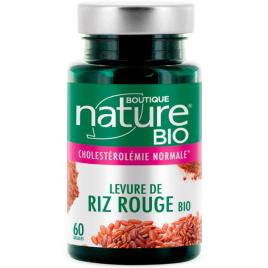 Boutique Nature Levure De Riz Rouge Bio  60 Gélules Onaturel