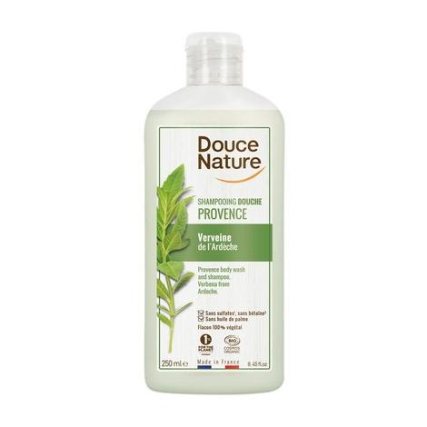 Douce Nature Shampoing Douche de Provence Verveine de l'Ardèche 250ml Douce Nature