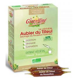 La Gravelline Aubier de tilleul du Roussillon Bio 30 ampoules de 10 ml La Gravelline
