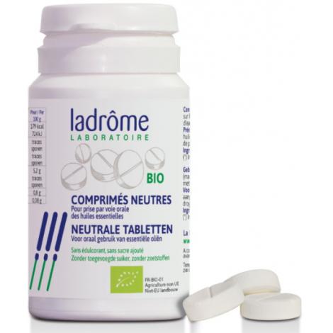 Ladrome 30 Comprimés neutres bio pour huiles essentielles Ladrome