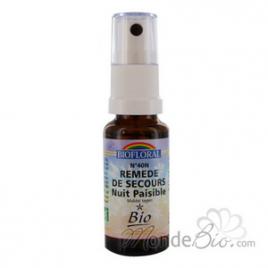 Biofloral Remède de secours nuit paisible spray 20ml Biofloral