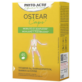 Phyto-Actif Ostear 45 capsules de 703,60mg Phyto-Actif