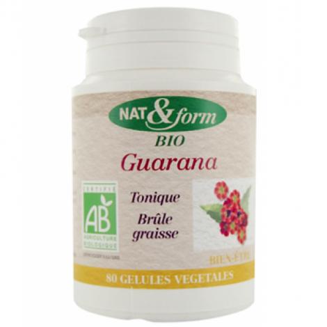 Nat et Form Guarana 80 gélules 250mg