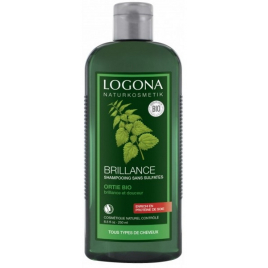 Logona Shampoing brillance à l'ortie 250ml Logona